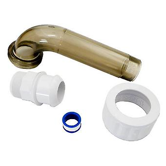 Hayward SPX1485BPAK Threaded Union Elbow Assembly for Filter and Feeders