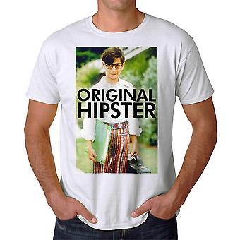The Wonder Years Original Hipster Men's White T-shirt