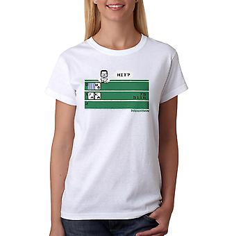 Intellivision Solitaire Hit? Game Women's White T-shirt