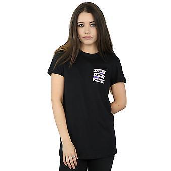 Star Wars Women's Rule Your Galaxy Chest Print Boyfriend Fit T-Shirt