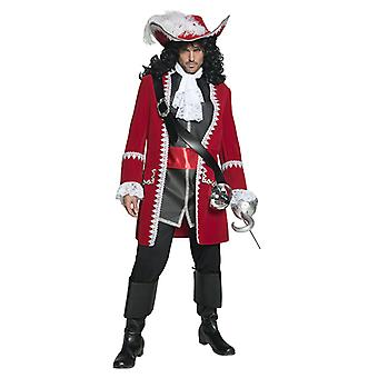 Auténtico traje de pirata