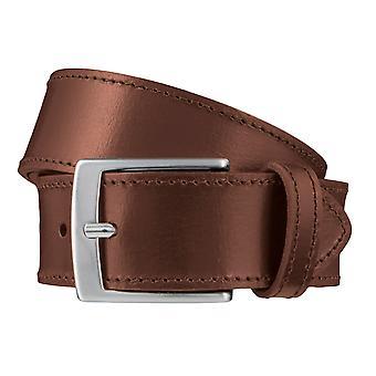 SAKLANI & FRIESE belts men's belts leather belt Brown 3668