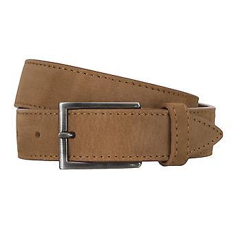 Cuir de ceinture BALDESSARINI ceintures ceintures hommes beiges 4676