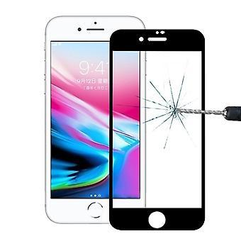 Prémio 0,3 mm dobrados H9 temperado vidro preto capa para Apple iPhone 8 além de 5.5 novo