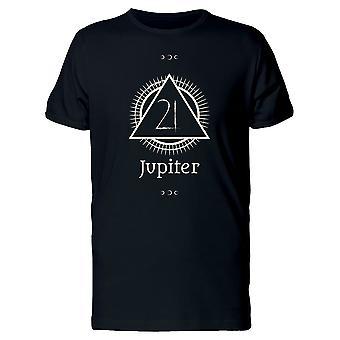 Jupiter Sternzeichen Symbol T-Shirt Herren-Bild von Shutterstock