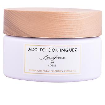 Adolfo Dominguez Agua Fresca De Rosas crème 300 Gr voor vrouwen