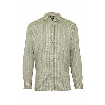 The Cartmel mester Mens landet stil Casual langermet skjorte