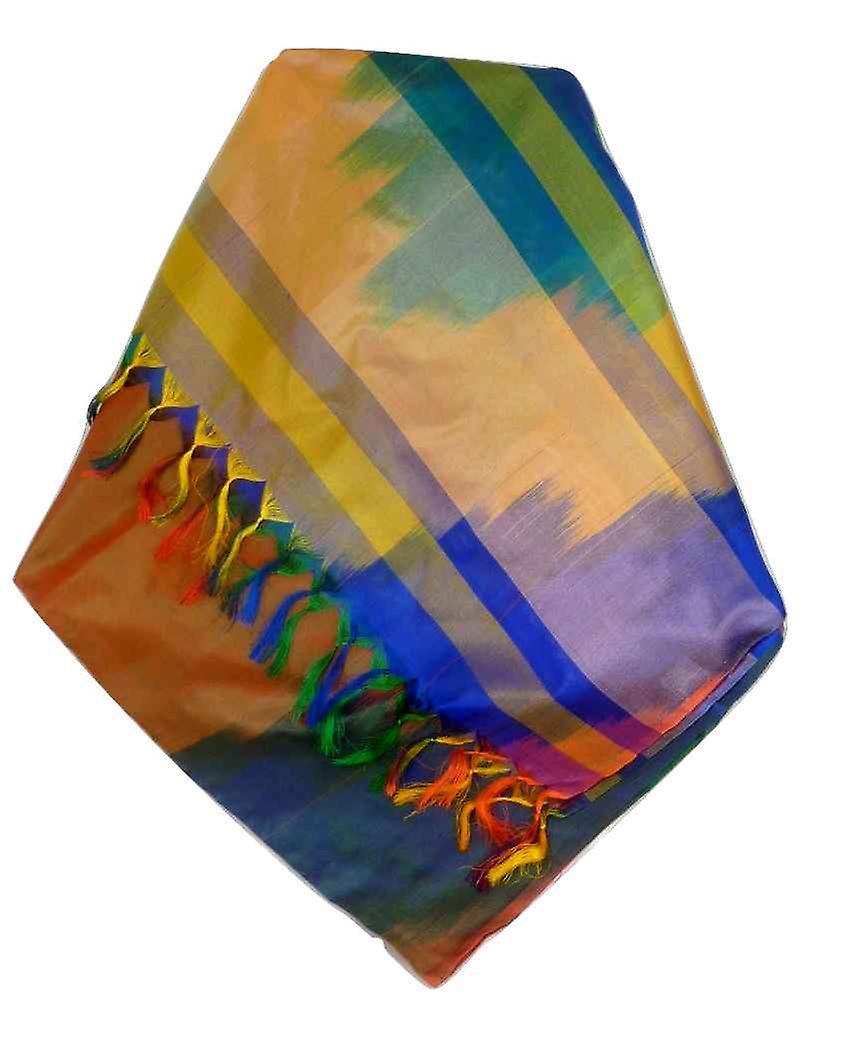 Varanasi Ekal Premium Silk Long Scarf Heritage Range Popat 3 by Pashmina & Silk
