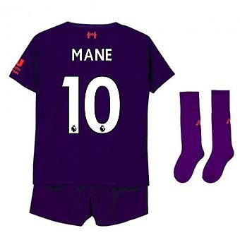 2018-2019 Liverpool Away Little Boys Mini Kit (Mähne 10)