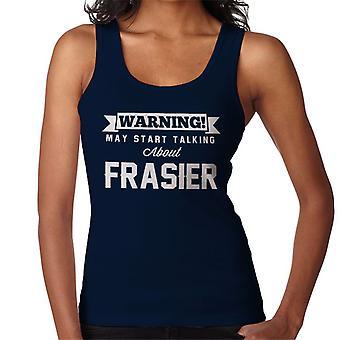 Figyelmeztetés május Start beszélünk Frasier nők ' s Vest