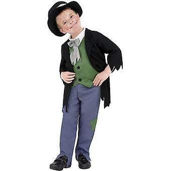 Dodgy Victorian Boy Costume, Small Age 4-6