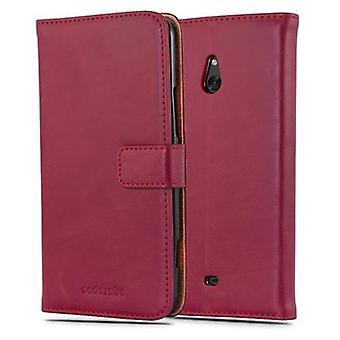 Cadorabo geval voor Nokia Lumia 1320 gevaldekking-telefoon geval met magnetische sluiting, stand functie en kaart Case compartiment-Case cover geval geval geval zaak geval boek vouwen stijl