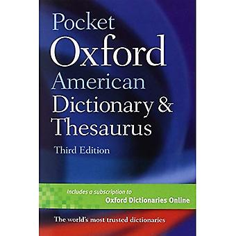 Pocket Oxford American Dictionary &; Thesaurus