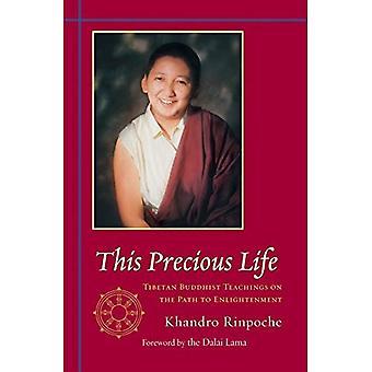 Cette vie précieuse: Enseignements bouddhistes Tibétains sur la voie de l'illumination