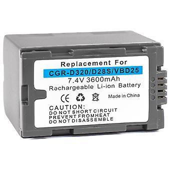 Akumulátor pro Panasonic CGR-D320 CGR-D28 CGR-d08r CGR-d220 CGR-D120 CGR-D16 CGR-D08 CGR-D16S CGP-d28a