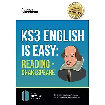 KS3: English is Easy - Reading (Shakespeare) 2017. Complete guidance for the new KS3 Curriculum. Achieve 100%
