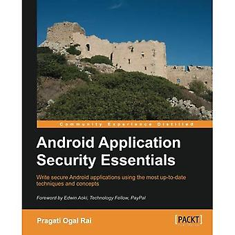 Android Application Security� Essentials