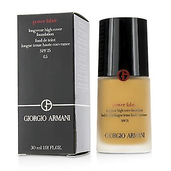 Giorgio Armani Power Fabric Longwear korkea kansi säätiö SPF 25-# 6,5 (Medium Tan neutraali)-30ml/1oz