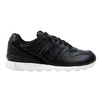 New Balance Leather 696 Black/White WL696CRB Women's