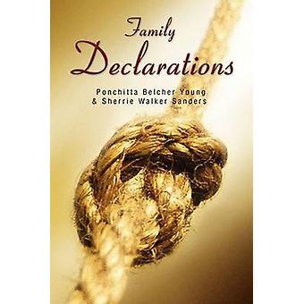 Family Declarations by Belcher & Ponchitta