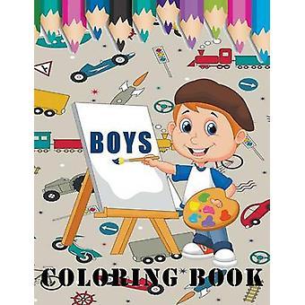 Boys Coloring Book by Enterprises & Mojo