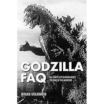 Godzilla FAQ-kaikki tämä s vasen tietää kuningas Monsters