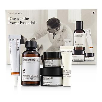 Discover The Power Essentials Kit: Nutritive Cleanser+firming Activator+finishing Moisturizer+eye Cream+vitamin C Ester