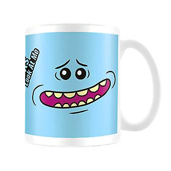 Rick and Morty Mr Meeseeks Face Coffee Mug