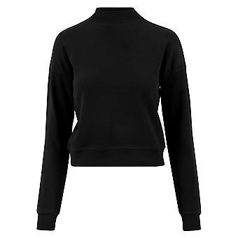 Urban Classics Women's Sweatshirt Short Interlock Crew
