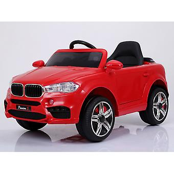 BMW X5 Style Jeep Ride On Car Red with Parental Remote Control