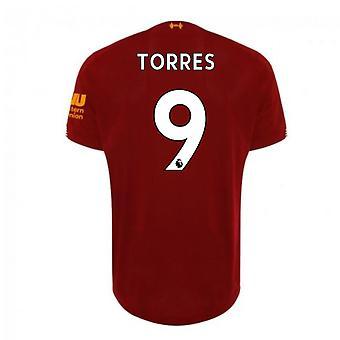 2019-2020 Liverpool Home Football Shirt (TORRES 9)