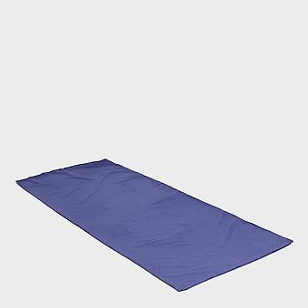 New Eurohike Rectangular Polyester Sleeping Bag Liner Blue