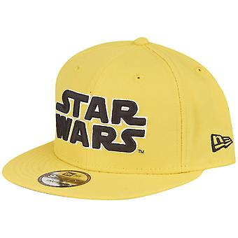 New Era 9Fifty Snapback Comics Cap - Star Wars cyber yellow