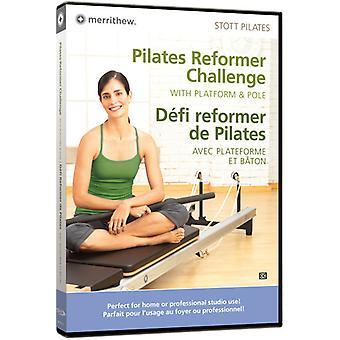 Pilates Reformer Challenge W/ Platform & Pole [DVD] USA import