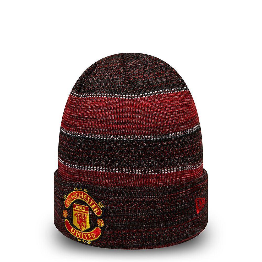 New Era Two Tone Engineered Cuff Beanie ~ Manchester United