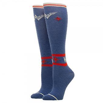 Knee High Socks - Wonder Woman - Warrior New Licensed kh5dh7wwm