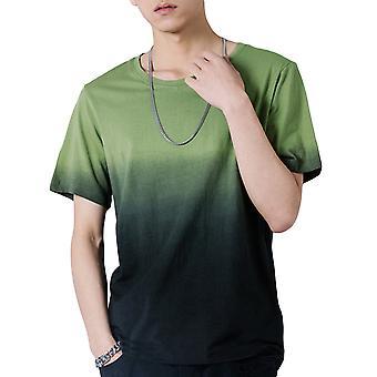 Allthemen Men's gradient T-shirt with short sleeves