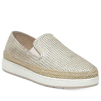Donald J Pliner Womens Maite-PH Fabric Low Top Slip On Fashion Sneakers
