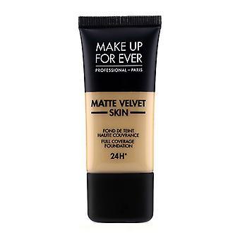 Make Up For Ever Matte Velvet Skin Full Coverage Foundation - # Y365 (desert) - 30ml/1oz