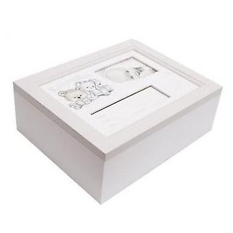 Baby Bunny and Bear Keepsakes Box