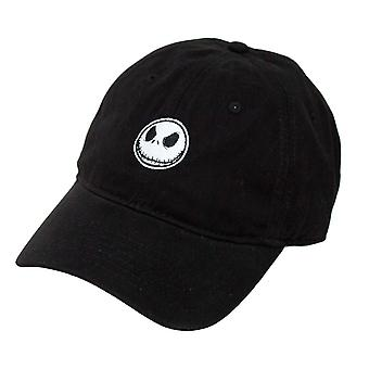 Nightmare Before Christmas Black Snapback Hat