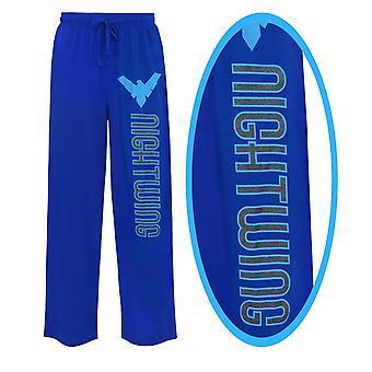 Nightwing folie logo unisex pyjamas bukser