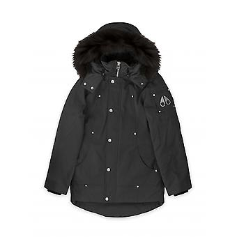 Moose Knuckles Junior Black Unisex Parka Jacket