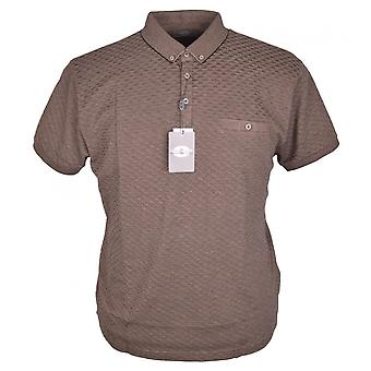 PETER GRIBBY Peter Gribby Diamond Knit Polo