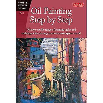 Ölmalerei Schritt für Schritt (Kunstbibliothek)