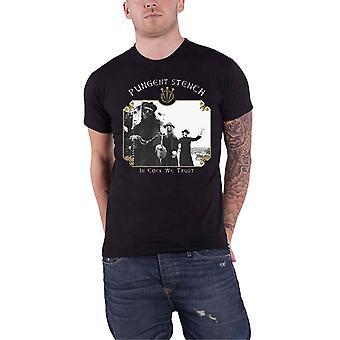 Pungent Stench T Shirt Masters Of Moral Band Logo Back Print Official Mens Black
