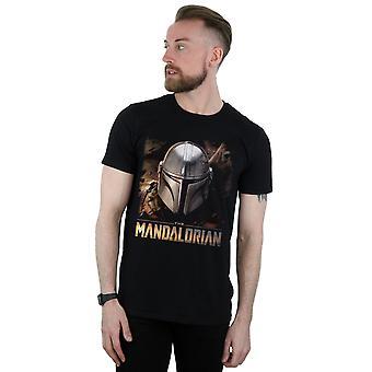 星球大战男人 ' 曼达洛里亚头盔 T恤