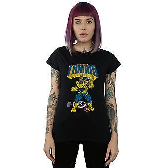 Marvel Women's Thanos Mad Titan Snap T-Shirt