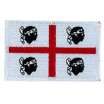 التصحيح Ecusson برود العلم سردينيا سردينيا إيطاليا الشارة الحرارية بلاسون