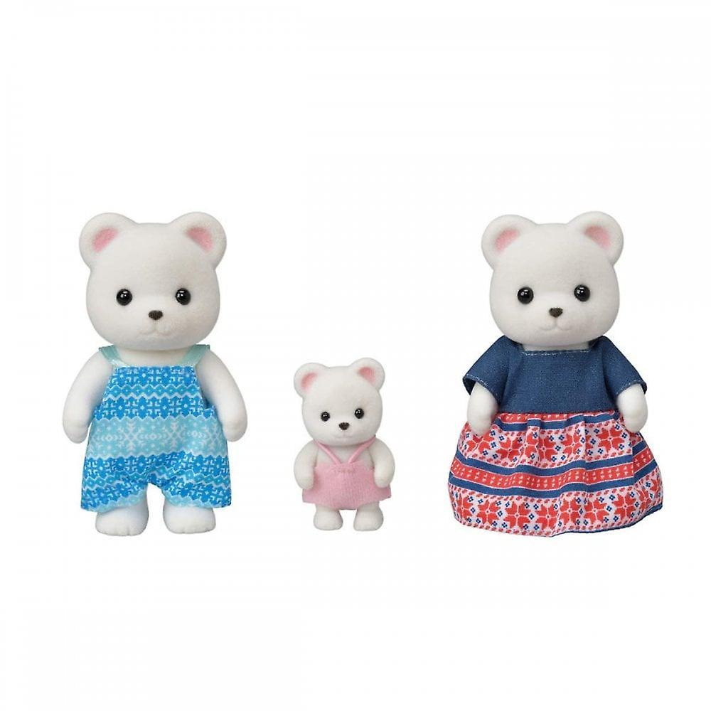 Sylvanian Families Polar Bear Family 5396